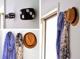 6 creative and diy wall hooks ideas