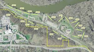 Prospect Park Map Disc Golf Course Likely Coming To Des Moines Whotv Com