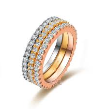 best diamond store aliexpress com buy 0 55 carat solid 18k white gold simulate