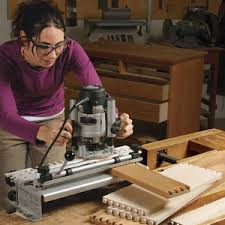 adjustable jig holds drawers casework for planing finewoodworking