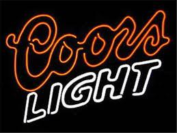 coors light bar sign 17 14 coors light beer neon sign real glass beer bar pub light
