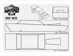 25 pinewood derby templates for cars design printable calendar
