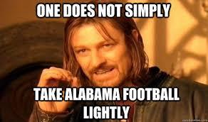 Alabama Football Memes - popular alabama football memes from recent years