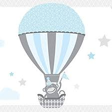 bordüre kinderzimmer selbstklebend wand bordüre selbstklebend air balloons wandbordüre