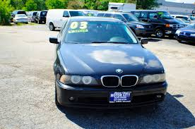2003 bmw 530i 5 series black m5 manual sedan used car sale