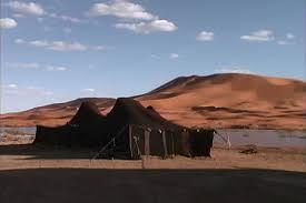 desert tent desert tent stock footage