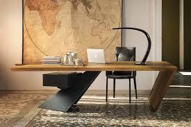 Italian Office Desks Nasdaque Modern Office Desk By Cattelan Italia Office Furniture