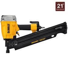 Coil Nails Home Depot by Dewalt Pneumatic 21 Degree Framing Nailer Dw325pl The Home Depot