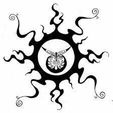 cool tribal sun tattoos feel confident wearing your unique sun