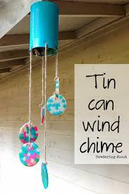 20 minute tin can wind chime using pony beads such a fun