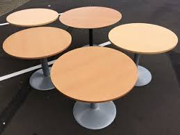 Circle Meeting Table Office Clearance Company U2014 Used And Second Hand Boardroom And
