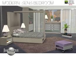 Modern Bedroom Furniture 2015 Sims 4 Modern Sens Bedroom