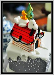 snoopy and woodstock in winter birthday cake cakecentral com