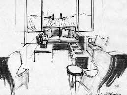 interior design degree quick sketching progression disd design blog