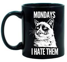 Coffee Cup Meme - com grumpy cat novelty internet meme coffee mug mondays