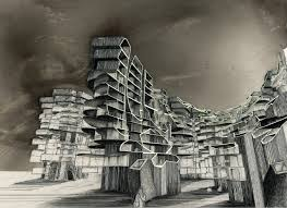 awesome drawing architecture via art graphics