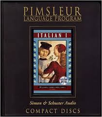italian i pimsleur comprehensive pimsleur cd series
