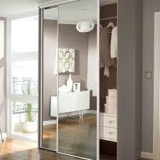 Single Mirror Closet Door Best 15 Of One Door Wardrobes With Mirror