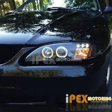 1994 mustang gt headlights 1994 1998 ford mustang gt svt cobra v6 halo projector led