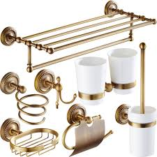 Bathroom Hardware Sets Antique Brass Bathroom Accessories Carved Bathroom Hardware Set