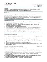 Core Competencies Examples For Resume by Download Pollution Control Engineer Sample Resume