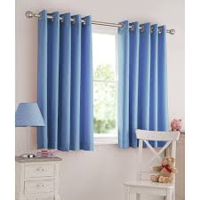 Baby Blue Curtains Light Blue Curtains Silentnight Light Reducing Eyelet