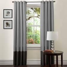 prima gray purple window curtains pair 54