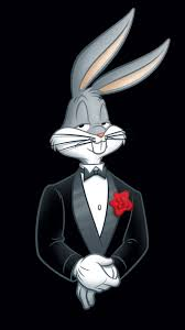 wallpaper bergerak sony xperia looney tunes bugs bunny rabbit tuxedo flower 4k sony xperia z5