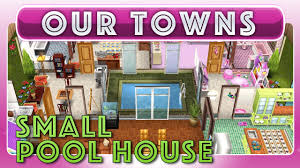 sims freeplay small indoor pool house original house design