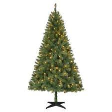 pre lit 9 foot spruce artificial tree led