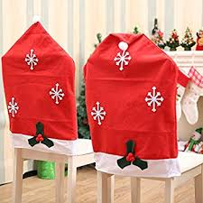 santa chair covers 17 3 w christmas chair back covers kitchen chair slip