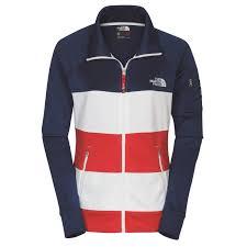the north face international collection full zip cadet sweatshirt