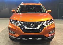 orange nissan rogue 2017 nissan rogue debuts at miami auto show