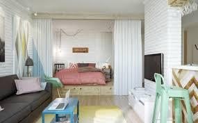 comment cr馥r une chambre dans un salon la séparation de pièce amovible optez pour un rideau