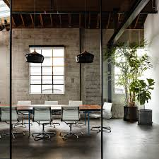a beautiful office conference space design furnished with eames