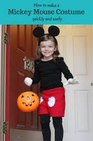 diy mickey mouse costume kellbot