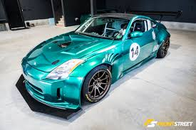 nissan 350z race car sasha anis is chasing legends in his nissan 350z u2013 front street media