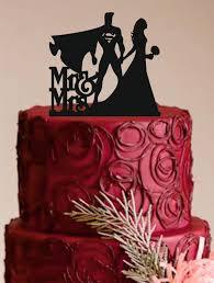 bride and groom wedding cake topper superman cake topper custom