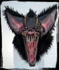 Extreme Halloween Costumes Huge Extreme Grusome Bat Halloween Mask Creature Reacher Costume
