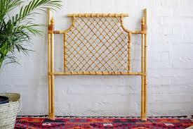 vintage cane headboard single bed woodstock gumtree