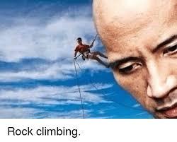 Rock Climbing Memes - rock climbing climbing meme on me me