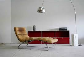 ledersessel design ledersessel mit hocker in flachstahl gestell für bequem lounge