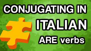learn italian conjugation with ouino are verbs present tense