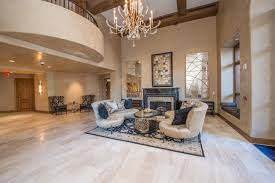 the lobby of this high end condominium residence in scottsdale az