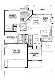 gorgeous house plans bungalow open concept for bun 750x1084