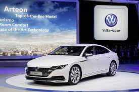 volkswagen arteon 2017 new 2018 vw arteon four door coupe is the cc u0027s more upscale