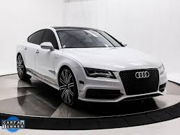 lexus gs vs audi a7 white audi a7 in florida for sale used cars on buysellsearch
