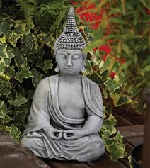 pearl hat thai buddha statue large garden ornament s s shop