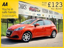 used peugeot car dealers used peugeot cars for sale in croydon london