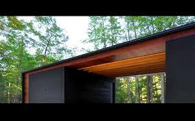 linear cabin st germain wisconsin u2014 johnsen schmaling architects